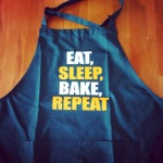 Eat Sleep Bake Repeat Apron