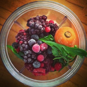 Probiotic Berry Smoothie