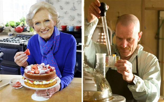 The Great British Bake Off judge Mary Berry is a big fan of Breaking Bad, which stars Bryan Cranston as Walter White