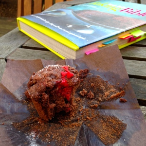 annie bell's baking bible raspberry chocolate crumble muffins