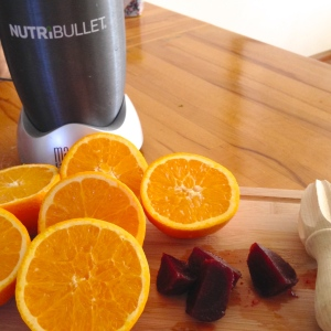 Red Navel Orange & Beetroot juice