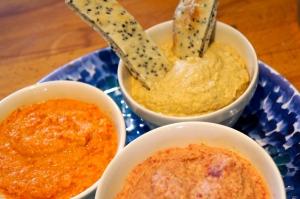 pitta and houmous 3 ways, Baking Better