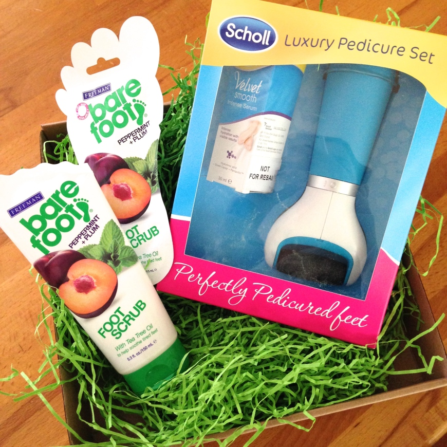 No mean feet: Superdrug goodies (feat. Scholl and Freeman Beauty)