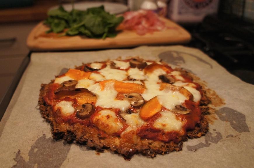 Surprisingly tasty cauliflower pizza - Baking Better