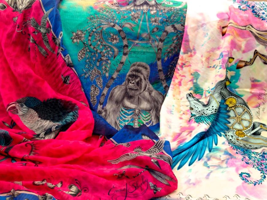 L-R: Macaw, Silverback, Pegasus