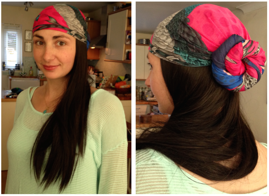 Heads High Bespoke wigs | Emma J Shipley scarves - Baking Better review