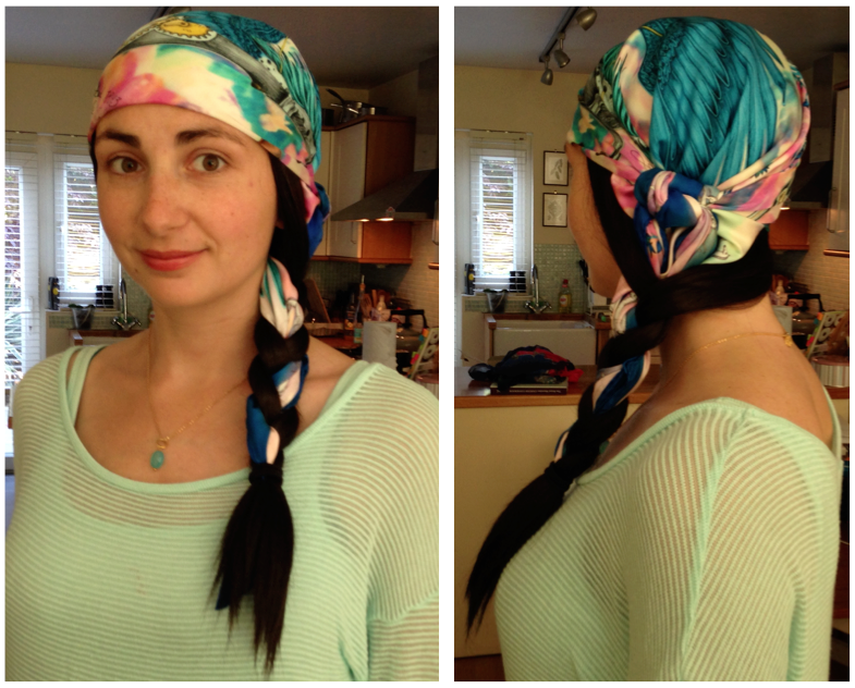 Heads High Bespoke wigs | Emma J Shipley scarves - Baking Better review