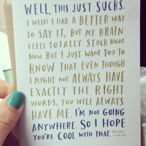 Emily McDowell's Empathy Cards range hit the nail on the head.