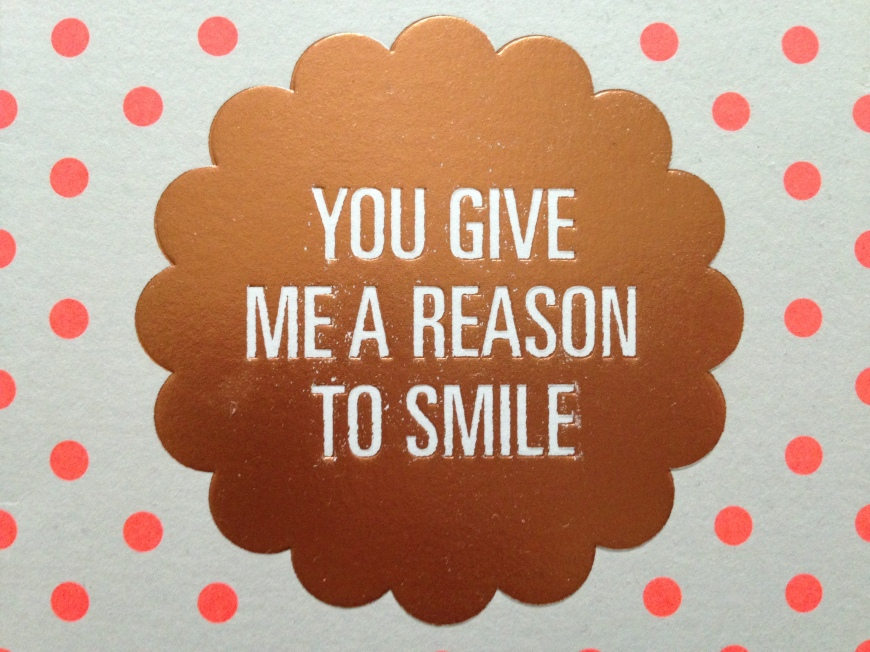 you give me a reason to smile | baking better